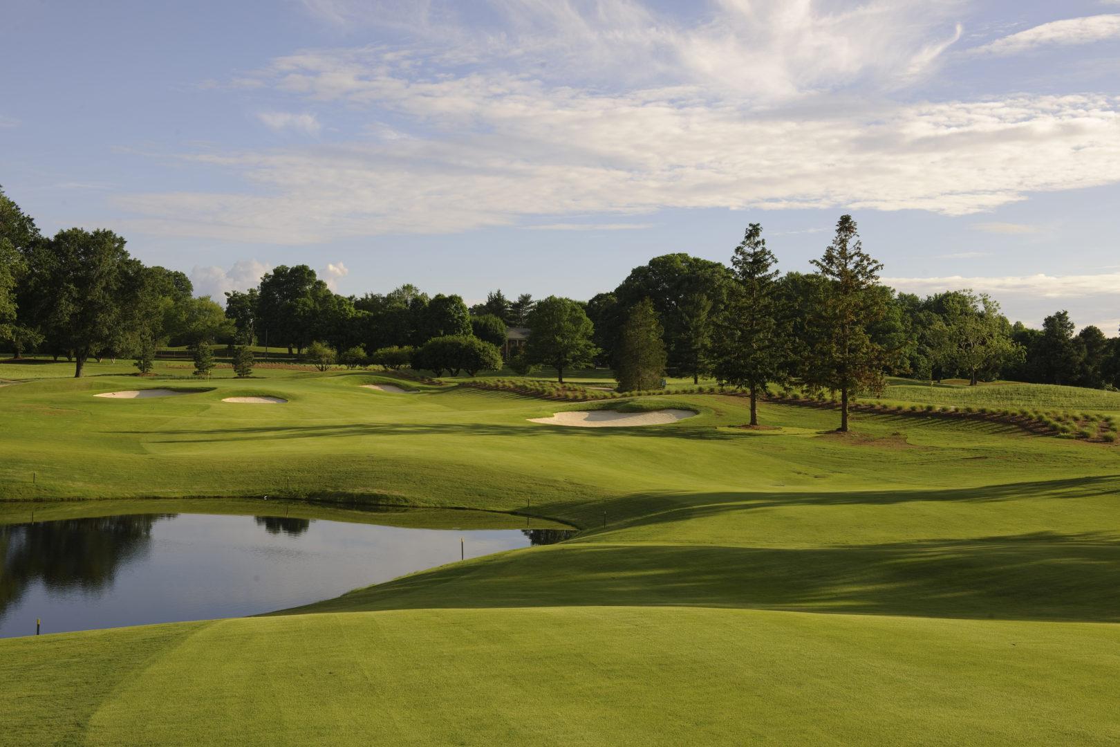 Carlson Farm Course, Greensboro Country Club (2009) – Gaunt Golf Design